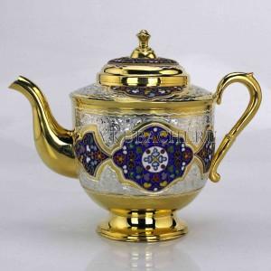 Серебряный чайник «Милиана»