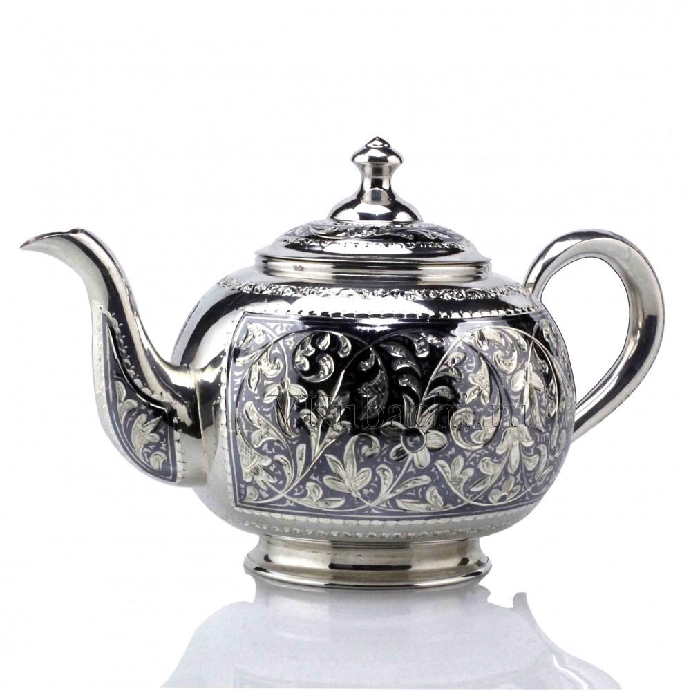 Серебряный чайник 730мл