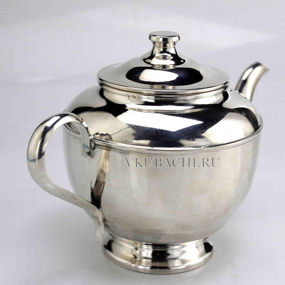 Серебряный чайник