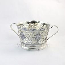 Серебряная ваза с ручками