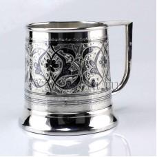 Серебряная пивная кружка кубачи