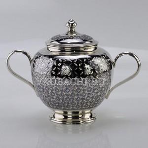 Серебряная сахарница «Эйфория»
